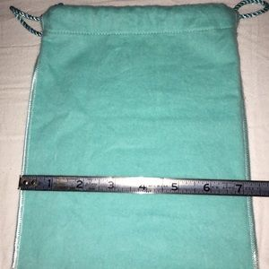 Tiffany & Co. Accessories - Tiffany&Co bag with pictured measurements